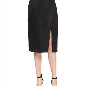 Nanette Lepore Pencil Skirt Side Slit